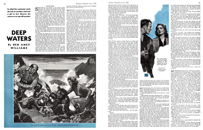 Article Preview: DEEP WATERS, June 1939 | Maclean's