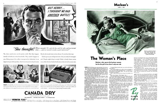 Article Preview: The Woman's Place, June 1939 | Maclean's