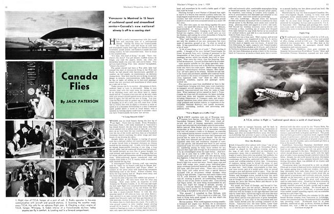 Article Preview: Canada Flies, June 1939 | Maclean's