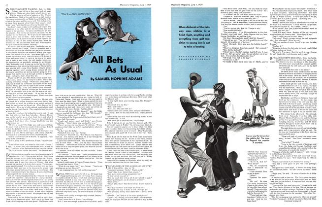 Article Preview: All Bets As Usual, June 1939 | Maclean's