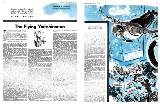 Article Preview: The Flying Yorkshireman, June 1939   Maclean's
