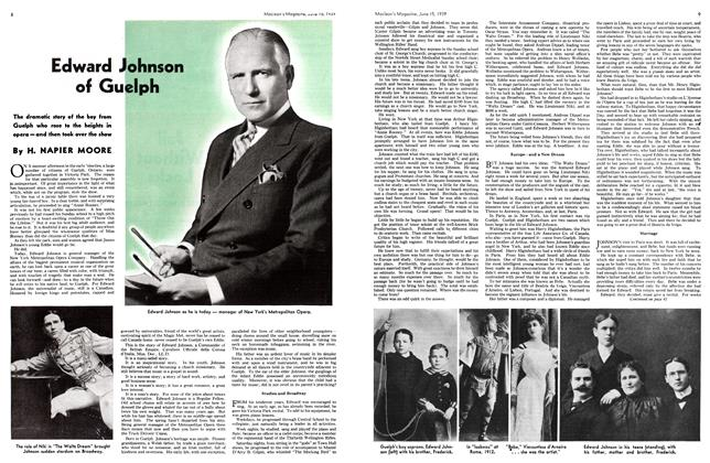 Article Preview: Edward Johnson of Guelph, June 1939 | Maclean's