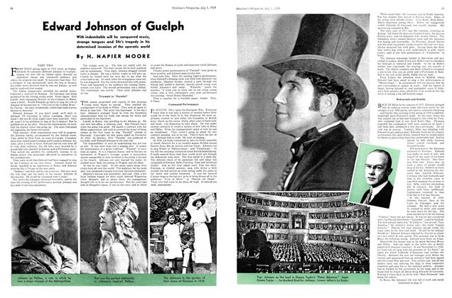Article Preview: Edward Johnson of Guelph, July 1939 | Maclean's