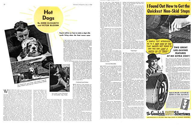 Article Preview: Hot Dogs, July 1939 | Maclean's