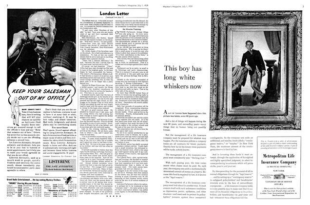 Article Preview: London Letter, July 1939 | Maclean's