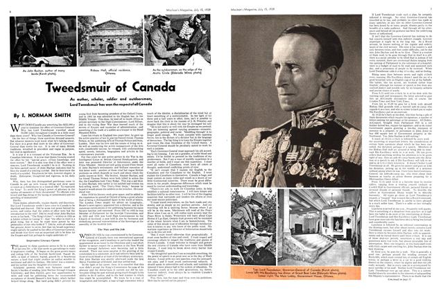 Article Preview: Tweedsmuir of Canada, July 1939 | Maclean's