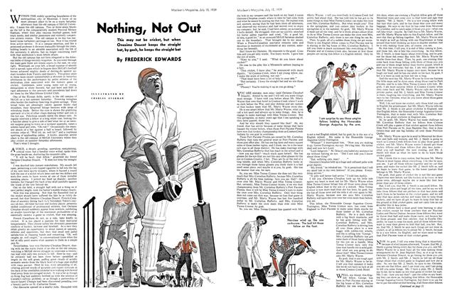 Article Preview: Nothing, Not Out, July 1939 | Maclean's