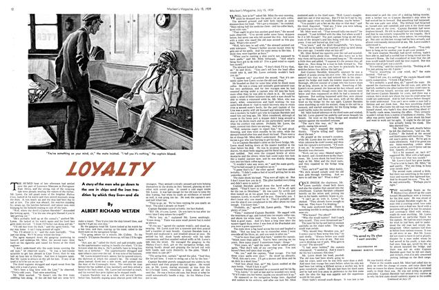 Article Preview: LOYALTY, July 1939 | Maclean's