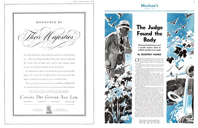 Article Preview: The Judge Found the Body, August 1939 | Maclean's