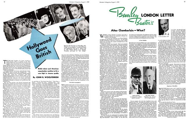 Article Preview: Hollywood Goes British, August 1939 | Maclean's