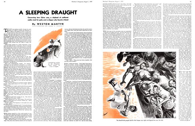 Article Preview: A SLEEPING DRAUGHT, August 1939 | Maclean's