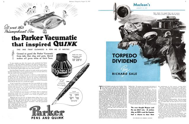 Article Preview: TORPEDO DIVIDEND, August 1939 | Maclean's