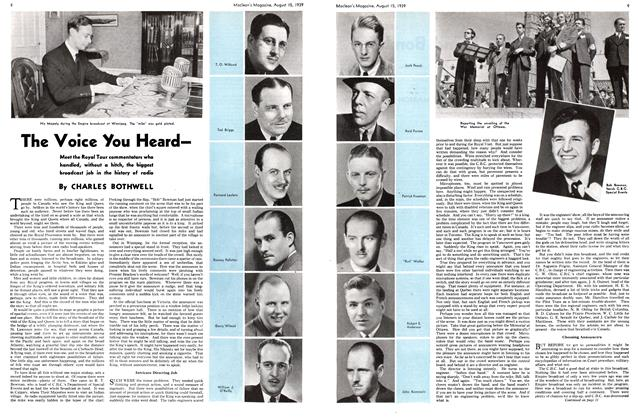 Article Preview: The Voice You Heard—, August 1939 | Maclean's