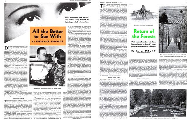 Article Preview: All the Better to See With, September 1939 | Maclean's