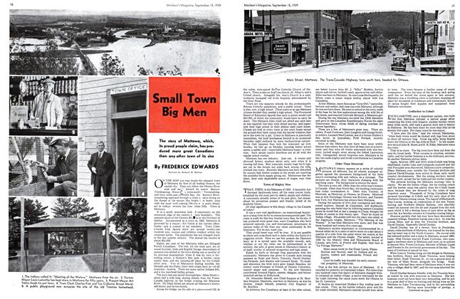 Article Preview: Small Town Big Men, September 1939 | Maclean's