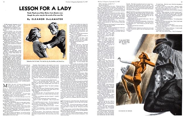 Article Preview: LESSON FOR A LADY, September 1939 | Maclean's