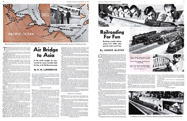 Article Preview: Railroading For Fun, September 1939 | Maclean's