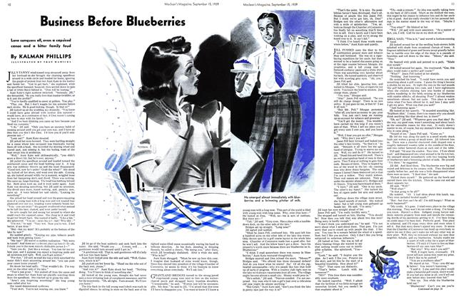 Article Preview: Business Before Blueberries, September 1939 | Maclean's