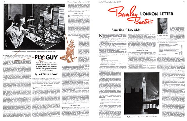 Article Preview: FLY GUY, September 1939 | Maclean's