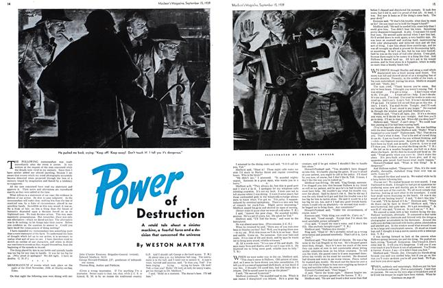 Article Preview: Power of Destruction, September 1939 | Maclean's