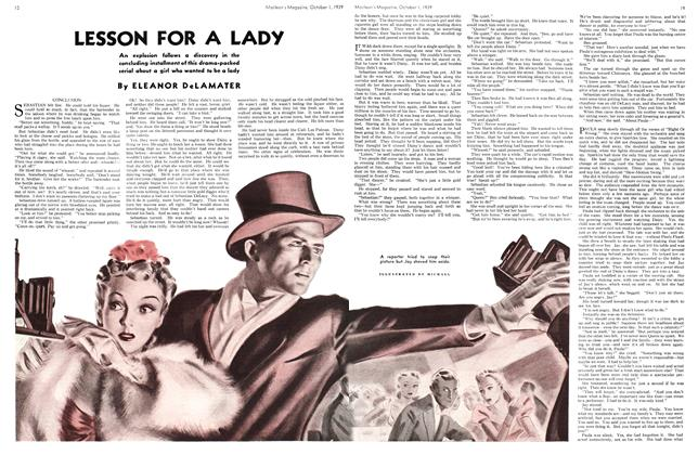 Article Preview: LESSON FOR A LADY, October 1939 | Maclean's