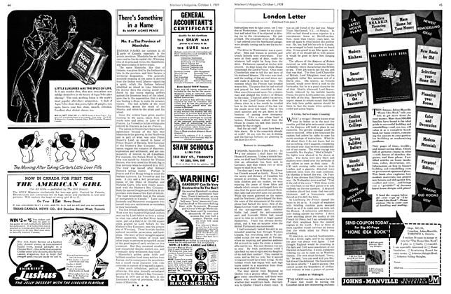 Article Preview: There's Something in a Name, October 1939   Maclean's