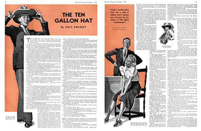 Article Preview: THE TEN GALLON HAT, October 1939 | Maclean's
