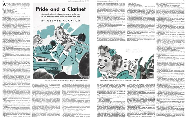 Article Preview: Pride and a Clarinet, October 1939 | Maclean's