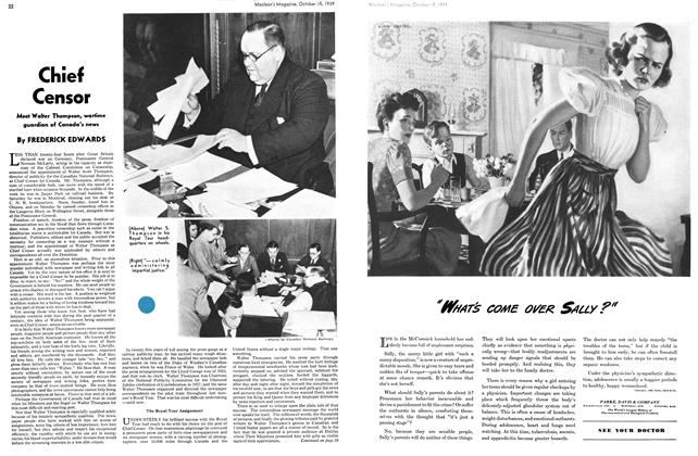 Article Preview: Chief Censor, October 1939 | Maclean's