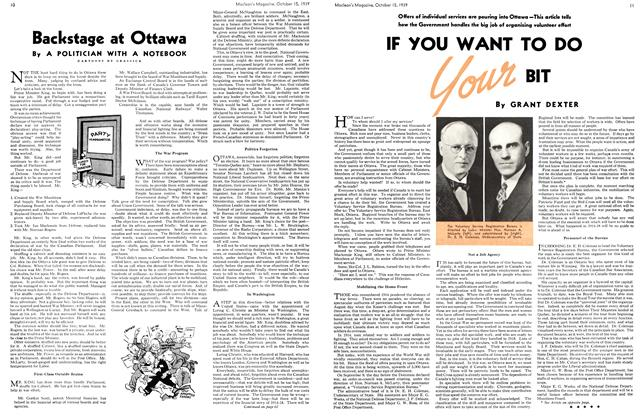 Article Preview: IF YOU WANT TO DO Your BIT, October 1939 | Maclean's