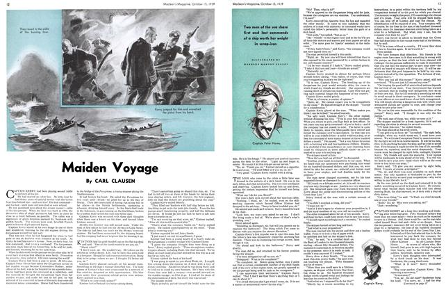 Article Preview: Maiden Voyage, October 1939 | Maclean's