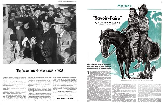 "Article Preview: ""Savoir-Faire"", December 1939 