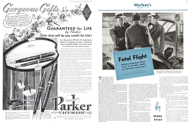 Article Preview: Fatal Flight, December 1939 | Maclean's