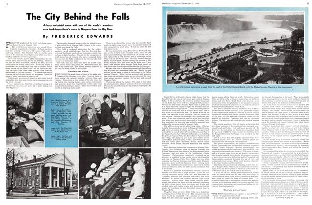 Article Preview: The City Behind the Falls, December 1939 | Maclean's