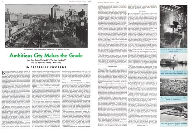 Article Preview: Ambitious City Makes the Grade, January 1940 | Maclean's