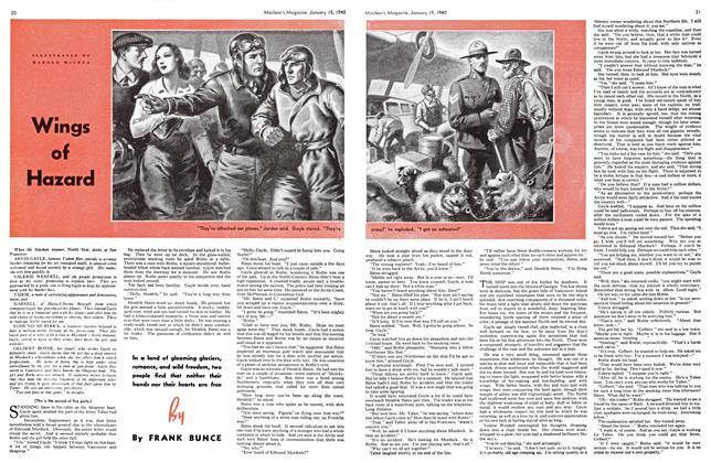 Article Preview: Wings of Hazard, January 1940 | Maclean's