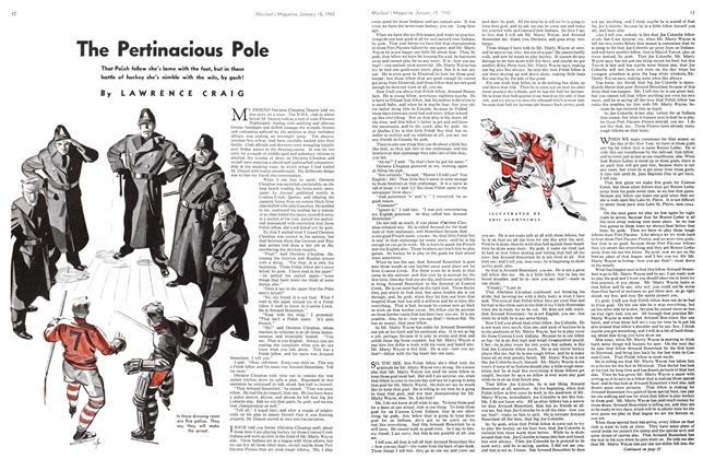 Article Preview: The Pertinacious Pole, January 1940 | Maclean's