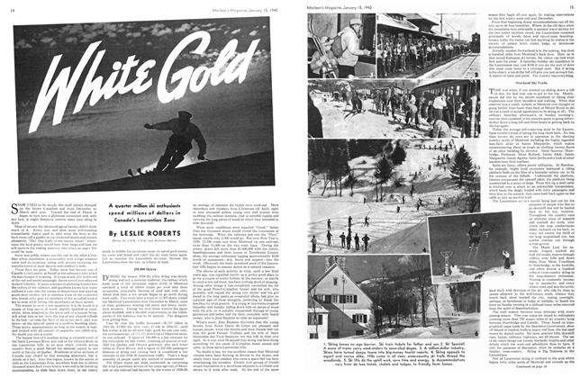 Article Preview: White Gold, January 1940 | Maclean's