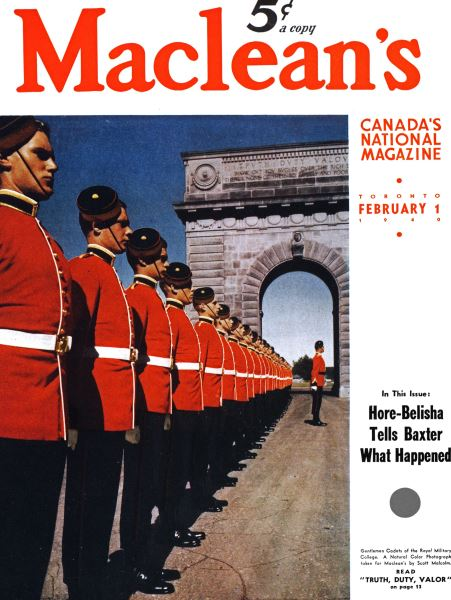 Issue: - February 1940 | Maclean's