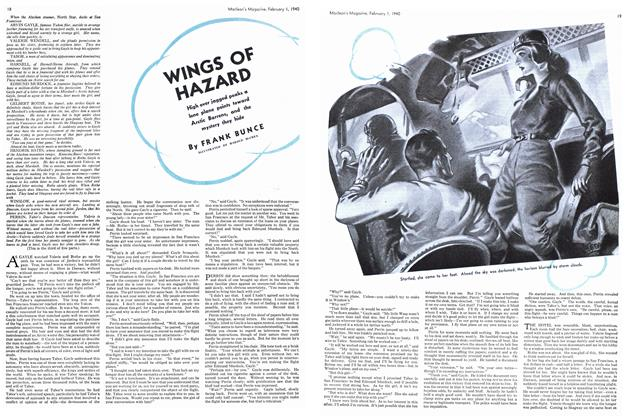 Article Preview: WINGS OF HAZARD, February 1940 | Maclean's
