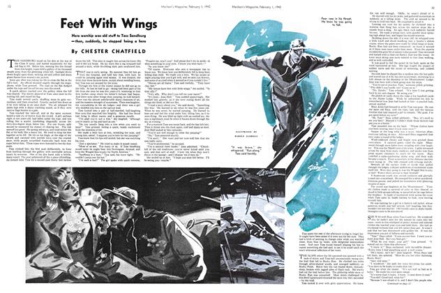 Article Preview: Feet With Wings, February 1940 | Maclean's