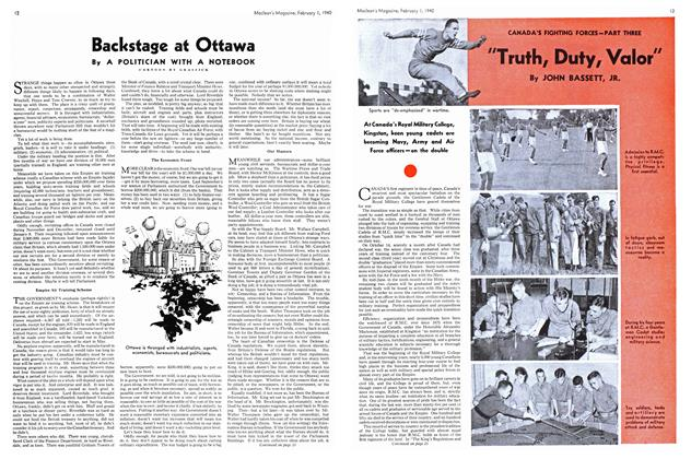 """Article Preview: """"Truth, Duty, Valor"""", February 1940 