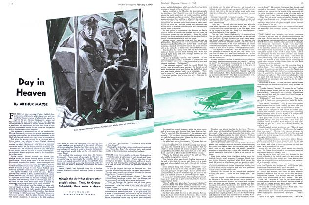 Article Preview: Day in Heaven, February 1940 | Maclean's