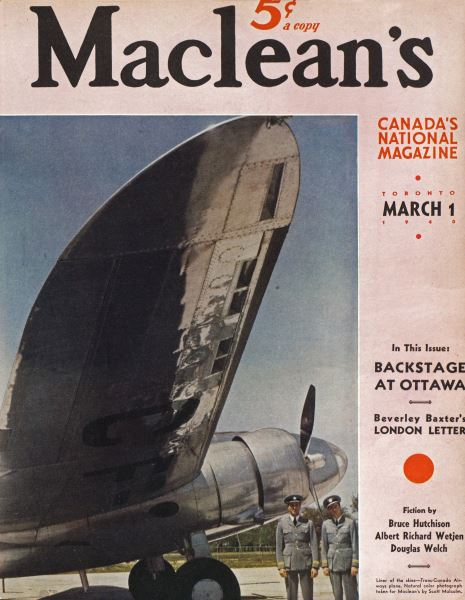 Issue: - March 1940   Maclean's