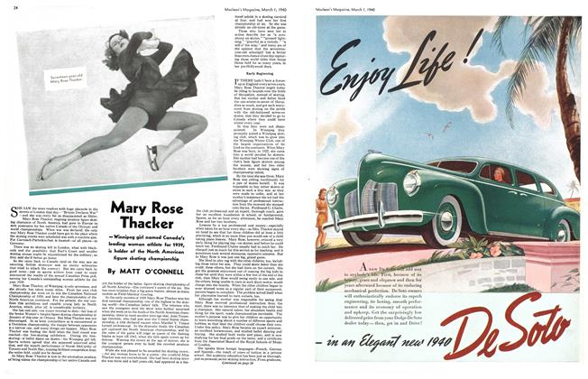 Article Preview: Mary Rose Thacker, March 1940   Maclean's