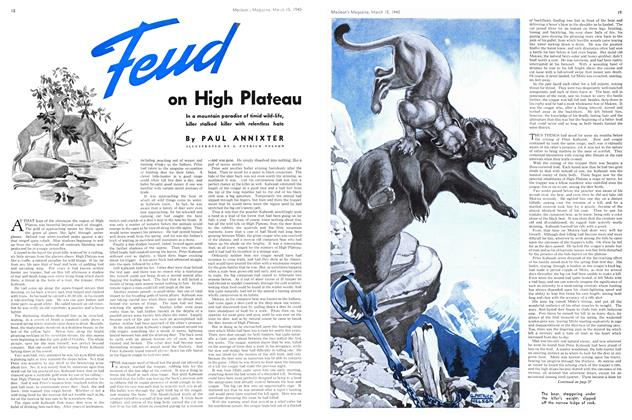 Article Preview: Feud on High Plateau, March 1940 | Maclean's