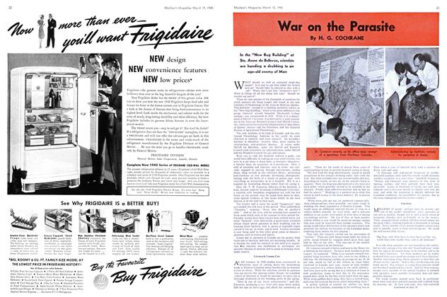 Article Preview: War on the Parasite, March 1940 | Maclean's