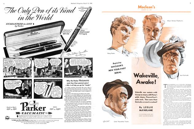 Article Preview: Wakeville, Awake!, March 1940 | Maclean's