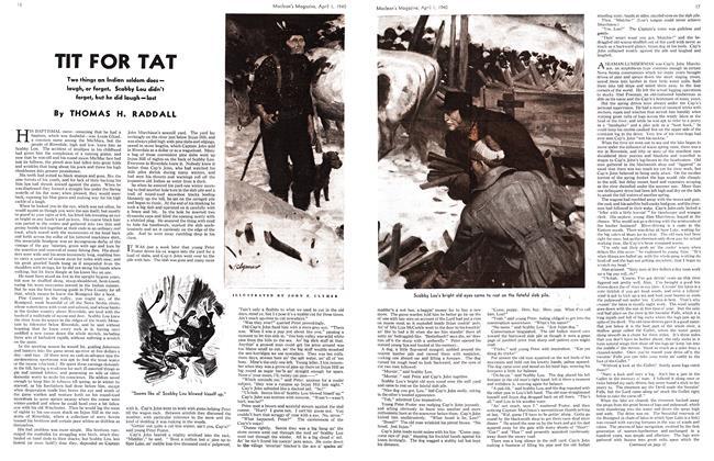 Article Preview: TIT FOR TAT, April 1940 | Maclean's