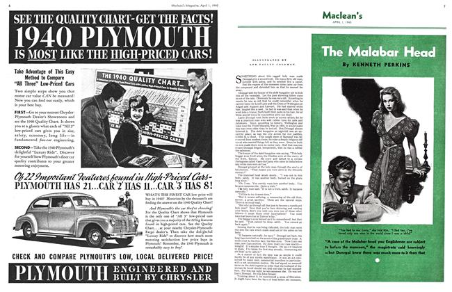 Article Preview: The Malabar Head, April 1940 | Maclean's